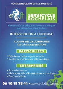 Flyer Servicycle Rochelais