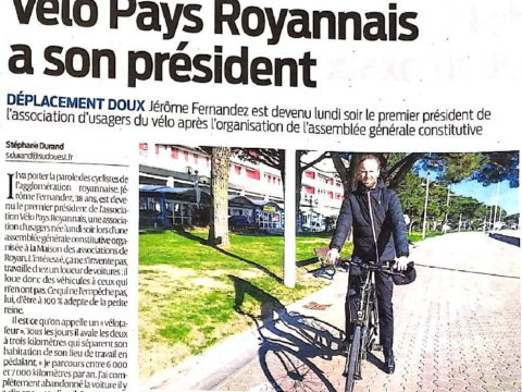 Une mouvelle association vélo à Royan