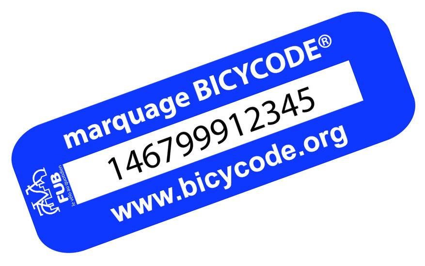 Marquage antivol des vélos