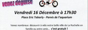 Balade de Noël à vélo