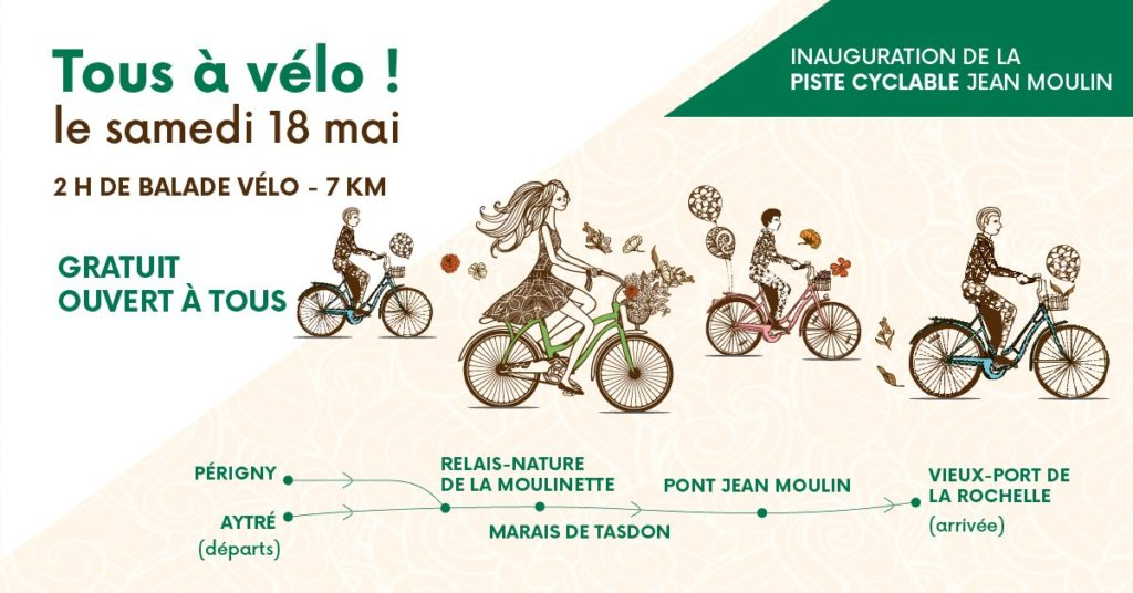 Inauguration Du Pont Jean Moulin Vive Le Velo