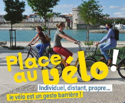 Place au vélo dans le déconfinement